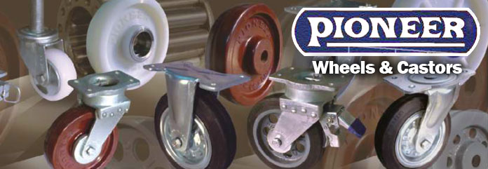 Authorised Distributor of Pioneer Castors Wheels